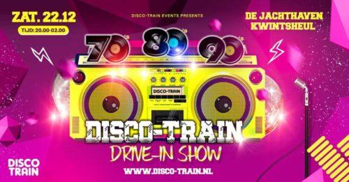 disco-train drive in show